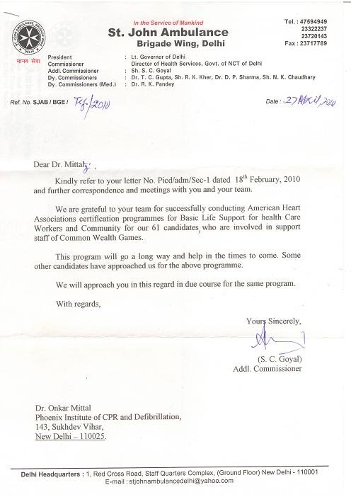 Institute Of Cpr And Defibrillation In Delhi Ncr Cpr International